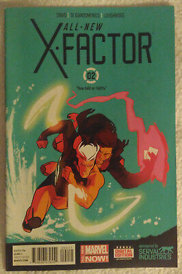 ALL-NEW X-FACTOR #2 by Peter David & Carmine Di Giandomenico - MARVEL COMICS