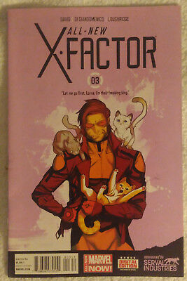 ALL-NEW X-FACTOR #3 by Peter David & Carmine Di Giandomenico - MARVEL COMICS