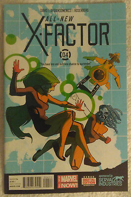ALL-NEW X-FACTOR #4 by Peter David & Carmine Di Giandomenico - MARVEL COMICS
