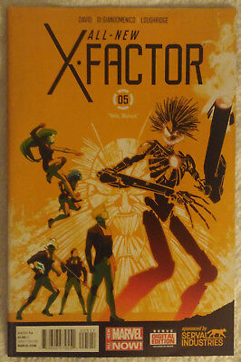 ALL-NEW X-FACTOR #5 by Peter David & Carmine Di Giandomenico - MARVEL COMICS