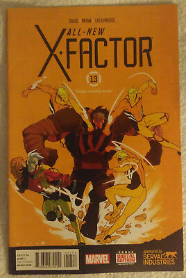 ALL-NEW X-FACTOR #13 by Peter David and Pop Mhan - MARVEL COMICS