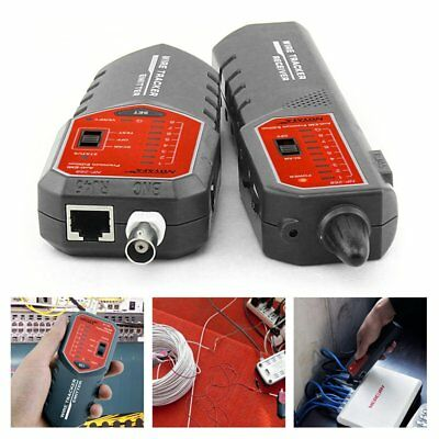 NF-889 Network Cable Checker Wire Sniffer Tester RJ45 RJ11 Cable Tracker AN