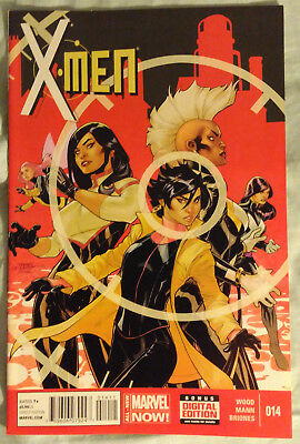 X-MEN (2013/Vol 3) #14 by Brian Wood and Clay Mann - MARVEL COMICS