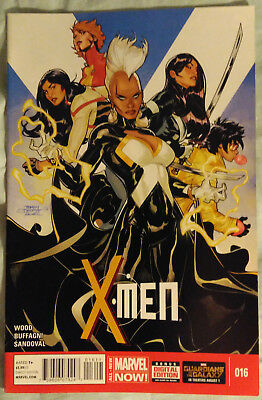 X-MEN (2013/Vol 3) #16 by Brian Wood and Matteo Buffagni - MARVEL COMICS