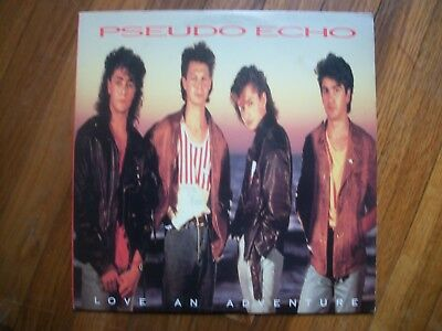 Pseudo Echo---Love An Adventure---Vinyl Album