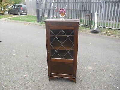 Most Wonderful Oak 1920's Arts & Crafts Bookcase Cabinet