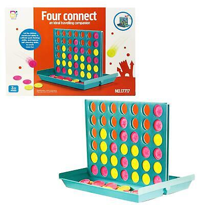 LARGE 4 in a Row Classic Family Connect Game, Four Board Game fun Christmas