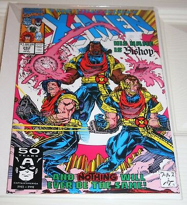 THE UNCANNY X-MEN #282 Bishop 1st appearance Marvel Comics 1991