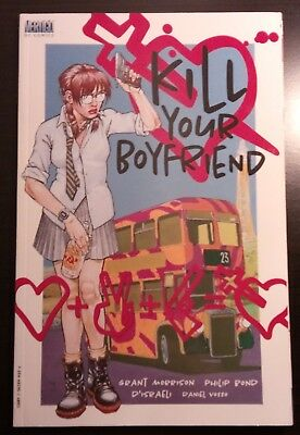 KILL YOUR BOYFRIEND (1998) by Grant Morrison & Philip Bond - DC/VERTIGO COMICS