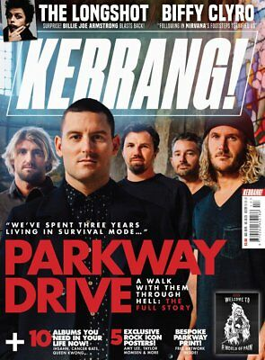 Kerrang 1719 28th April  2018 PARKWAY DRIVE on the cover