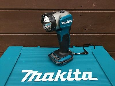 Makita DML802 18V / 14.4V LXT Lithium Ion LED LIGHT Lamp Pivot Torch