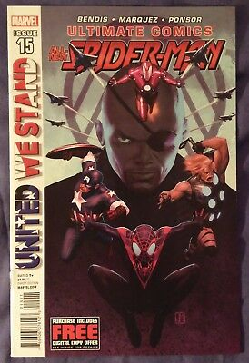 ULTIMATE COMICS SPIDER-MAN (2011) #15 by Bendis & Marquez - MARVEL/MILES MORALES