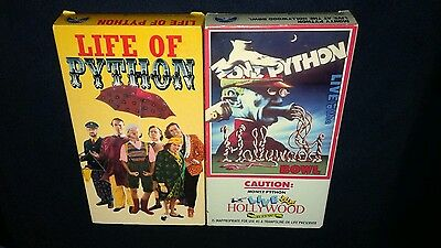 Lot, 2 Monty Python Vhs, Live At The Hollywood Bowl '82, Life Of Python '90 Doc.