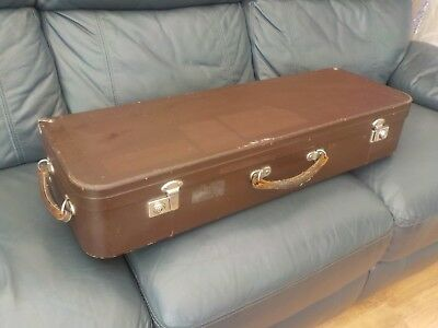 Vintage paxman case ltd musical instrument case wind collectable old