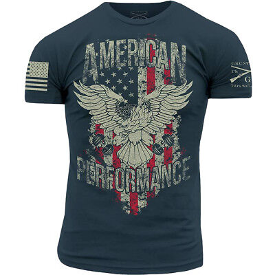 Grunt Style American Performance T-Shirt - Blue