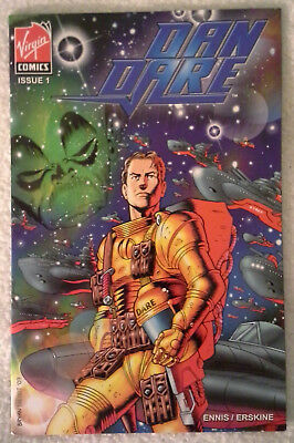 DAN DARE (2007) #1 (of 7) by Garth Ennis and Gary Erskine: VIRGIN COMICS