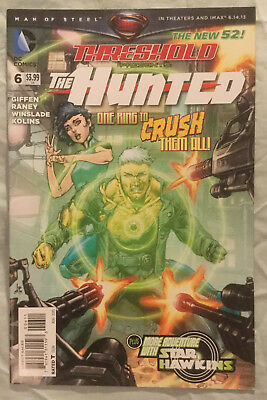 THRESHOLD (2013) #6 by Keith Giffen, Tom Raney, & Tim Green II - DC: THE NEW 52!