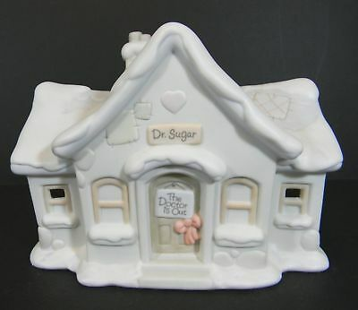 Precious Moments Sugar Town Dr Doctor Office Sugartown Christmas Collectable