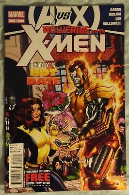 WOLVERINE & the X-MEN (Vol 1) #14 by Aaron & Molina: AVENGERS VS X-MEN /MARVEL