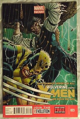WOLVERINE & the X-MEN (Vol 1) #23 by Jason Aaron & Nick Bradshaw - MARVEL NOW!