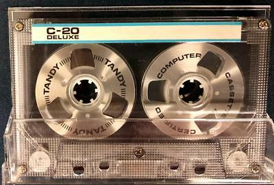 Tandy C-20 Deluxe Blank Reel To Reel Type Computer Compact Cassette Tape (1)