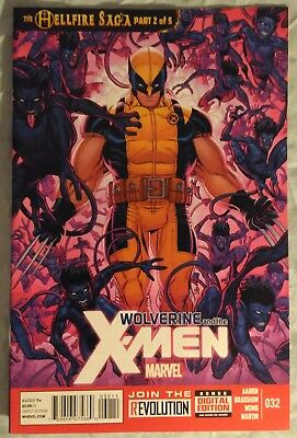 WOLVERINE & the X-MEN (Vol 1) #32 by Jason Aaron & Nick Bradshaw - MARVEL COMICS