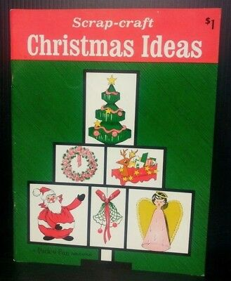 Scrap-Craft Christmas Ideas Pack o Fun 1968 Decorations Ornaments