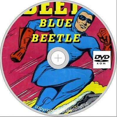 Blue Beetle 58 Assorted Issues  Golden Age on Dvd Rom