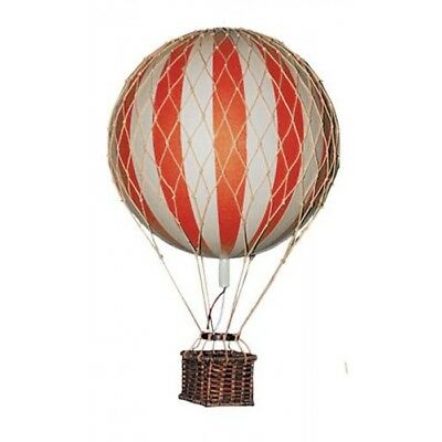 Floating the Skies Hot Air Balloon Home Decor - Authentic Models, Red