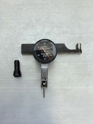 "B&S Bestest Switzerland 7032-5 Dial Test Indicator .0001"" .008"" Works Perfectly"