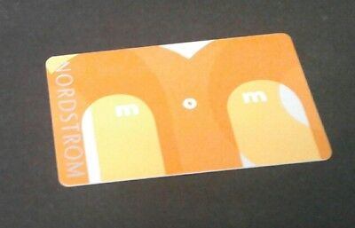 New Nordstrom MOM Gift Card, Orange Mothers Day 2018, Collectible, Mint