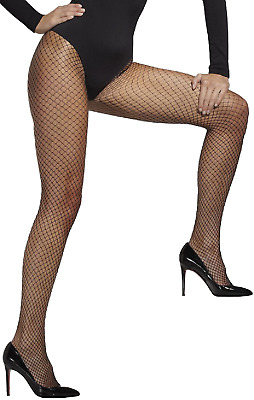78a5583b1 Ladies Sexy Black Lattice Net Fancy Dress Costume Outfit Accessory Tights