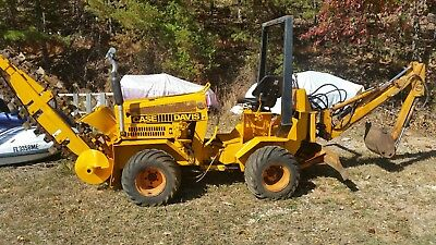 Case Davis Trencher With Backhoe