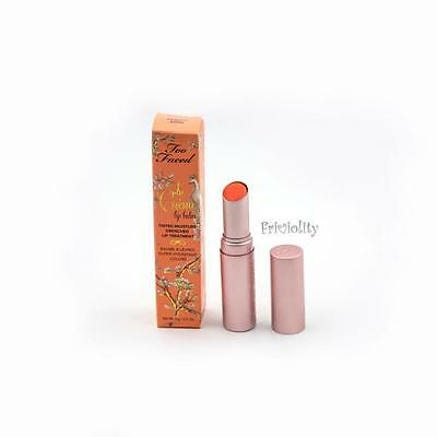 TOO FACED La Creme Tinted Moisture Drenched Lip Treatment Lip Balm PEACHY KEEN