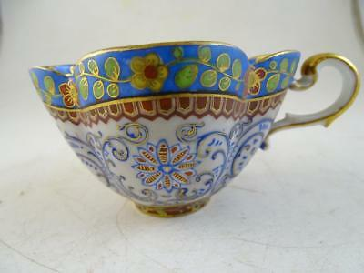 Antique Dresden Germany Teacup Cup Hand Painted Vintage 1800s Porcelain Old