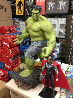 """Super Giant Size Marvel The Hulk Green Giant Figure Statue 25"""" 1/4 Scale New *"""