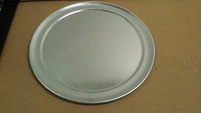 "(1 DOZEN) - 10"" PIZZA TRAYS - Pan - Aluminum - WIDE RIM TRAY - 1 DOZEN"