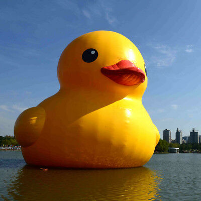 GIANT INFLATABLE FLOAT Rubber Ducky Duck ~ Birthday Pool Toy Party ...