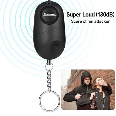 Emergency Self Defense Security Alarm Keychain. Extreme Sound |High Protection
