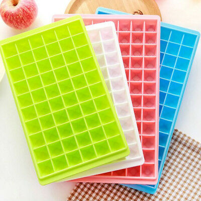 Newest 60-Cavity Ice Cube Tray Maker Mold Mould Tray Kitchen Bar DIY Jelly Tool