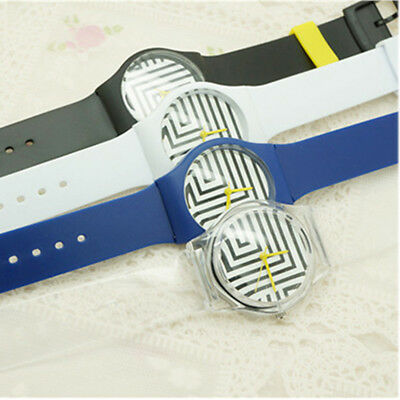 Fashion Zebra Pattern Student Quartz Watch Analog Round Casual Men&Women Gifts