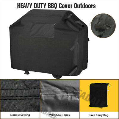 170cm BBQ Cover Heavy Duty Waterproof Garden Patio Rain Dust Protection WQ6YB