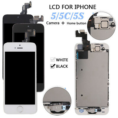 For iPhone 5 5S 5C LCD Screen Full Replacement Display Digitizer Assembly