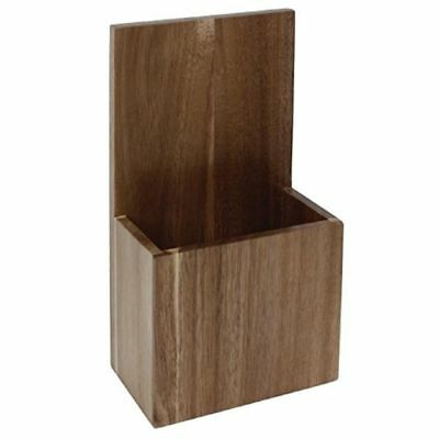 Wall Mounted Takeaway Menu Holder Solid Wood Restaurant Cafe RCL390