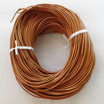 5M Real Genuine Leather Necklace Cord 1.5mm W7613