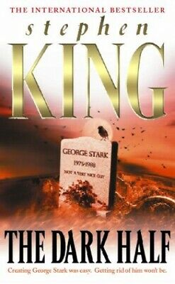 The Dark Half by King, Stephen Paperback Book The Cheap Fast Free Post