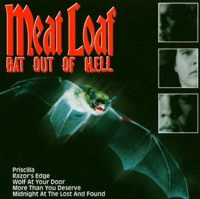 Meat Loaf - Bat Out Of Hell - Meat Loaf CD 72VG The Cheap Fast Free Post The