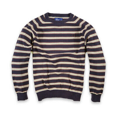 Fred Perry Junge Kinder Pullover Sweater Gr.XL (170) Young Mehrfarbig, 29374