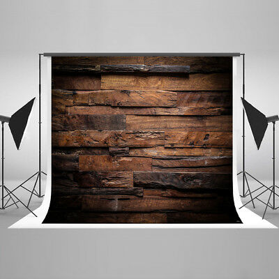 3x5FT Vinyl Wood Wall Floor Photography Studio Prop Backdrop Photo Background #8