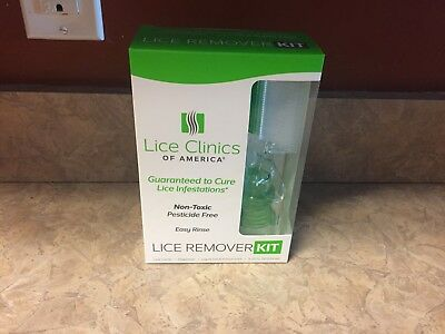 Lice Clinics of America Lice Remover Kit for Hair - 5.25 fl. oz. NEW FREE SHIP